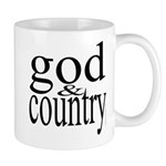 344. god & country.. Mug