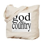 344. god & country.. Tote Bag