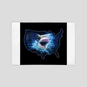 Shark Attack 4' x 6' Rug