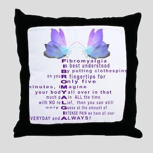 Understanding Fibro Throw Pillow