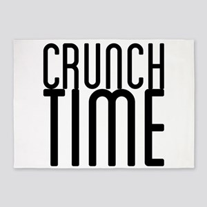 Crunch Time 5'x7'Area Rug