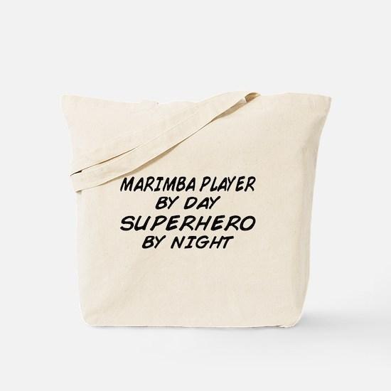 Marimba Superhero by Night Tote Bag