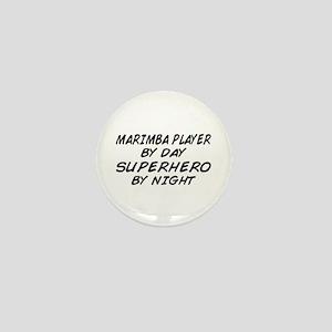 Marimba Superhero by Night Mini Button