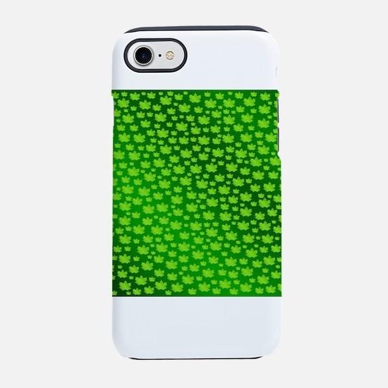 green,gold, silver, metal, s iPhone 8/7 Tough Case