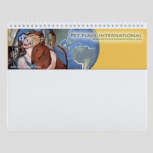 www.petplaceinternational.com Wall Calendar