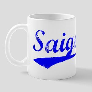Vintage Saigon (Blue) Mug