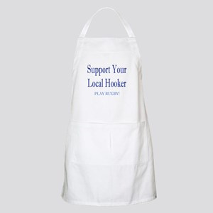 Support Your Local Hooker BBQ Apron