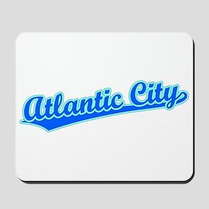Retro Atlantic City (Blue) Mousepad