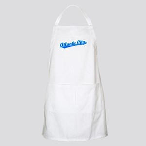 Retro Atlantic City (Blue) BBQ Apron