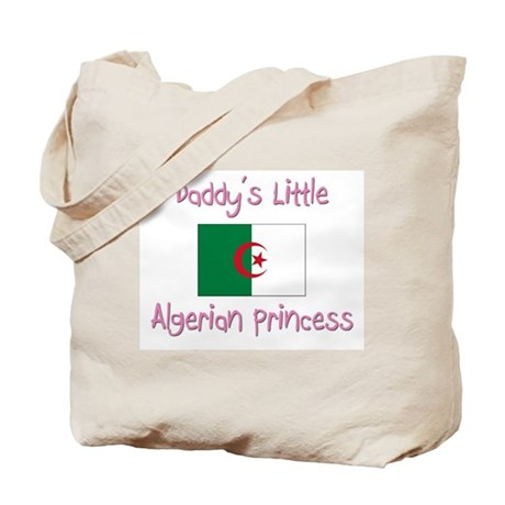 Daddy's little Algerian Princess Tote Bag