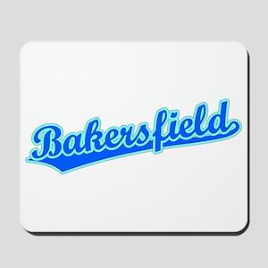 Retro Bakersfield (Blue) Mousepad