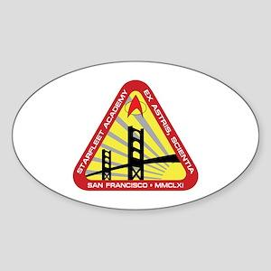 STAR TREK TNG SFA Sticker (Oval)
