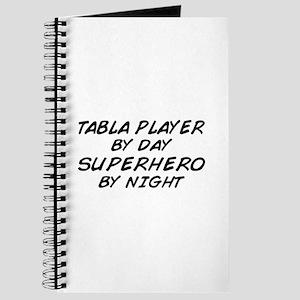 Tabla Plyr Superhero by Night Journal