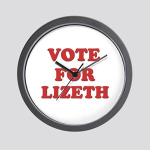 Vote for LIZETH Wall Clock