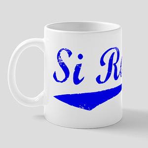 Vintage Si Racha (Blue) Mug