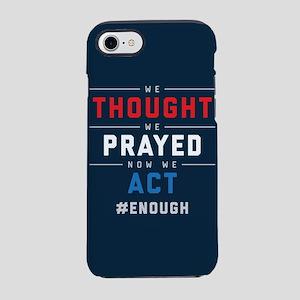 Now We Act #ENOUGH iPhone 8/7 Tough Case