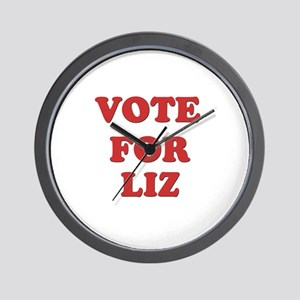 Vote for LIZ Wall Clock