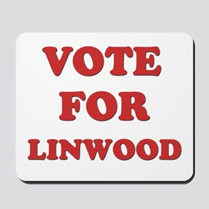 Vote for LINWOOD Mousepad