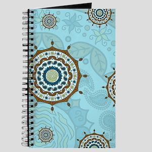 Mehndi Fantasy Copper Journal
