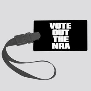 VOTE OUT THE NRA Large Luggage Tag