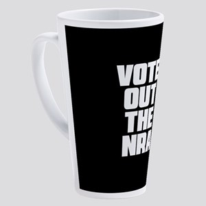 VOTE OUT THE NRA 17 oz Latte Mug