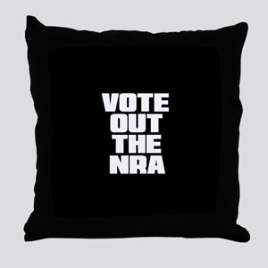 VOTE OUT THE NRA Throw Pillow