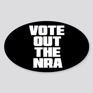 VOTE OUT THE NRA Sticker (Oval)