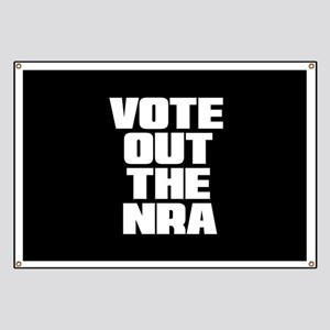 VOTE OUT THE NRA Banner