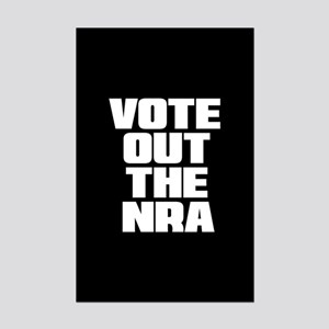 VOTE OUT THE NRA Mini Poster Print