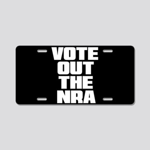 VOTE OUT THE NRA Aluminum License Plate