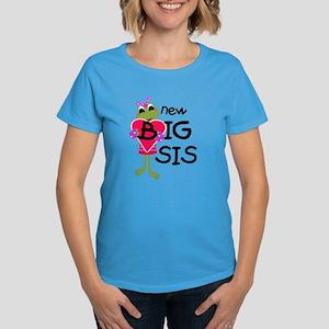 Frog Big Sis Women's Dark T-Shirt
