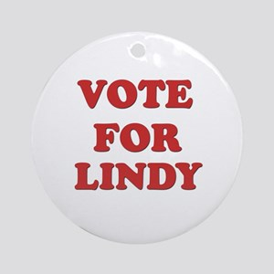 Vote for LINDY Ornament (Round)