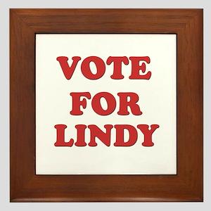 Vote for LINDY Framed Tile
