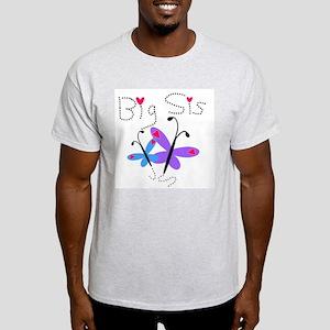 Butterflies Big Sis Light T-Shirt