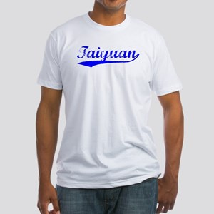 Vintage Taiyuan (Blue) Fitted T-Shirt