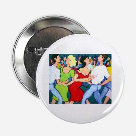 Two Stepping Cajun Dance Button