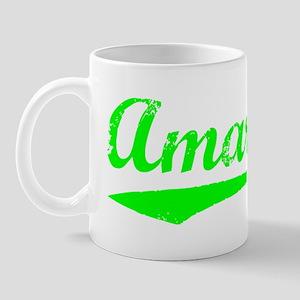 Vintage Amarillo (Green) Mug