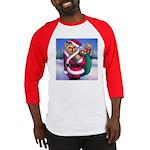 Santa Teddy Baseball Jersey