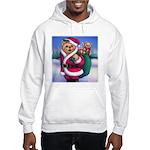 Santa Teddy Hooded Sweatshirt