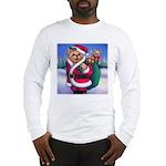 Santa Teddy Long Sleeve T-Shirt