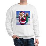 Santa Teddy Sweatshirt