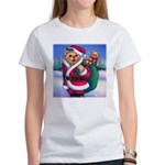 Santa Teddy Women's T-Shirt