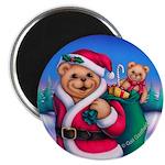 Santa Teddy Magnet