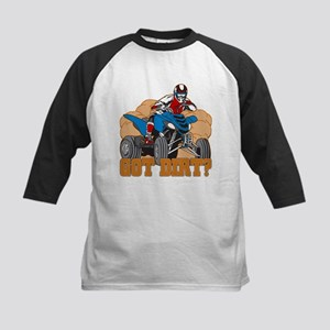 Got Dirt ATV Kids Baseball Jersey
