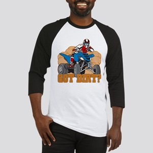 Got Dirt ATV Baseball Jersey