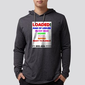 LOADED - MAN OF LEISURE, FILTH Long Sleeve T-Shirt