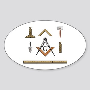 Working Tools No. 5 Oval Sticker
