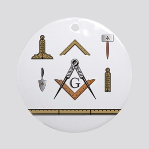 Working Tools No. 5 Ornament (Round)