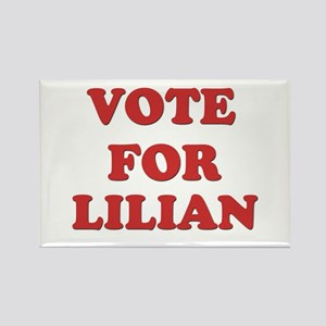 Vote for LILIAN Rectangle Magnet
