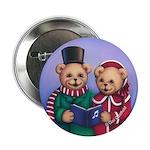 Bear Carolers Button